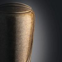 Urna funeraria in bronzo per ceneri di cremazione