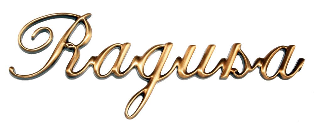 Bronze letters, Italic model