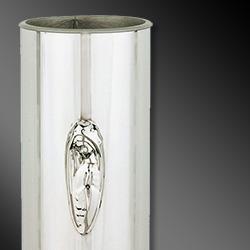 Steel Flower Vases for Graves