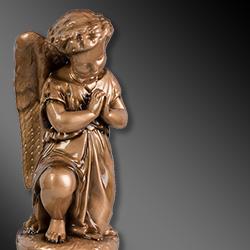 Statue sacre in polvere di marmo per cappelle cimiteriali